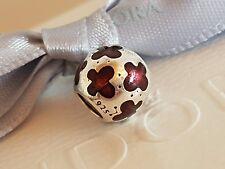 Genuine Pandora Ruby Pink Enamel Baby Butterflies Charm 790438EN07 Butterfly