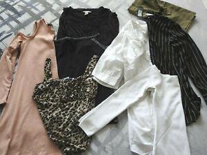 Ladies Clothes Bundle 12 Blouse Vest Skirt Tops River Island BooHoo H&M Primark