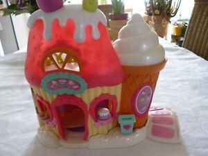 Hasbro My little Pony Spielhaus  Backhaus Konditorei Zubehör zwei kleine Pony´s