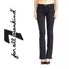 10401 ? 7 FOR ALL MANKIND Skinny Bootcut Jeans Size 25 RT $168