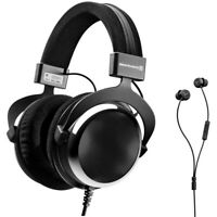 BeyerDynamic DT 880 Premium Special Edition Chrome 250 ohm+ Wired In-Ear Headset
