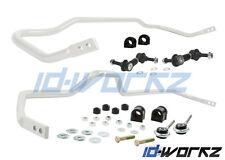 WHITELINE FRONT & REAR ANTI ROLL BAR PACKAGE FOR NISSAN SKYLINE R33 GTR & GTS-4