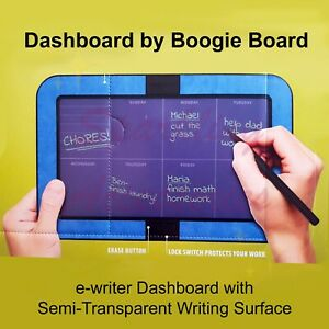 NEW Dashboard Boogie Board eWriter Tablet Family Organiser Stylus Wall Mount Set