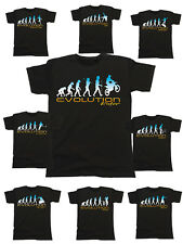 Mens EVOLUTION Organic T-Shirt Extreme Sports Fathers Day Birthday Choose Sport