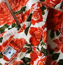 SKIRT gonna vintage MOSCHINO jeans made Italy TG.46 circa M/L  RARE
