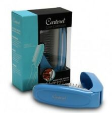 Carteret Collection Massage Brush with Built-In Mirror