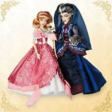 Disney Cinderella & Lady Tremiane Fairytale  Limited Edition Doll Set NIB