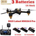 Hubsan X4 H501S Pro Drone FPV RC Quadcopter 5.8G 1080P GPS Brusheless RTF, 2019