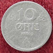 Norway 10 Ore 1943 Zinc (D2408)