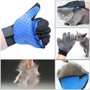 Pet Grooming Glove Hair Remover Deshedding Brush Mitt Massage Tool for Cat & Dog