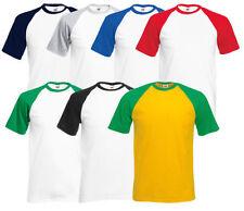 Baseball in Größe 2XL Herren-T-Shirts aus Baumwolle