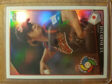 YU DARVISH JAPAN CUBS 2009 TOPPS CHROME REFRACTOR RC #7 WORLD BASEBALL CLASSIC