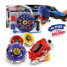 4D Beyblade Stadium Fight Grip Rare burst Fusion set Metal Master Launcher