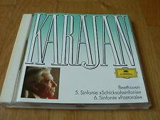 Karajan - Beethoven : Symphonies Nos. 5 & 6 - CD DGG West Germany