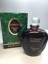 Dior Poison Eau de toilette 100 ml. Rare, vintage 1985s (first edition). Full