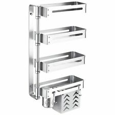 Kitchen Metal Rack Seasoning Organizer Shelves Home Restaurant Business Tool New