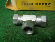 John Deere U15828U Union Tee U15828 Hyd Fitting Fits: