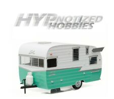 GREENLIGHT 1:24 TRAILER -  SHASTA 15' AIRFLYTE DIE-CAST GREEN 18227