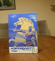 80 s poster  USSR AEROFLOT Soviet Russian Airlines