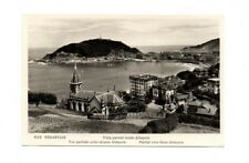 Spain - San Sebastian, Vista Parcial Desde Aldapeta- Vintage Real Photo Postcard