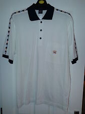 PAUL & SHARK polo shirt - WHITE - size LARGE approx 46in - NWOT bought last year