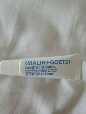 Malin + Goetz Mojito Lip Balm .3oz 10ml Brand new Sealed
