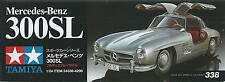 KIT TAMIYA 1:24 AUTO DA MONTARE E COLORARE MERCEDES BENZ 300SL  ART 24338