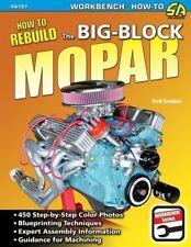 Rebuild Mopar Dodge Plymouth 440 426w 413 400 383 Big Block Engines Book Manual