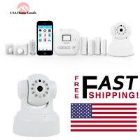 Alarm Camera Deluxe Kit Wireless Smart Monitoring Home Security W/ Siren Alert