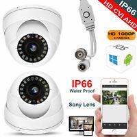 2.4MP Full HD 1080p CCTV Dome Camera OSD Analog Night Vision 4 IN 1 TVI CVBS AHD