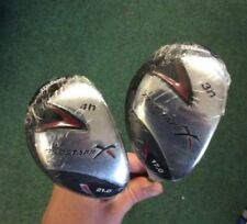 BRAND NEW WILSON PROSTAFF X 3 & 4 HYBRID AND 5-SW IRONS GRAPHITE SHAFTS