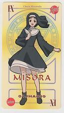Negima! Magister Negi Magi Pactio Card Misora Kasuga [paper]