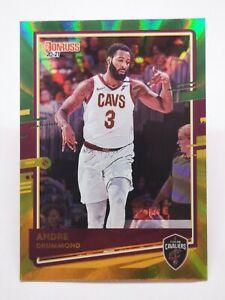 Panini Donruss 2020-21 N1 card NBA Green/Yellow Laser Andre Drummond #184