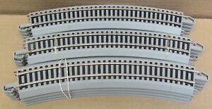 "Bachmann E-Z Track 44580 N/S 18"" Radius Curve Track FULL CIRCLE (12x) HO-Scale"