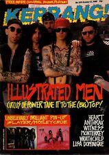 Circus of Power on Kerrang Cover 1988    Heart   Motley Crue   Lisa Dominique