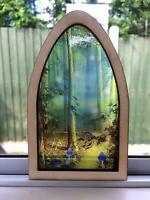 Enchanted Stained Glass Fairy Window by Secret Fairy Door Easter Egg Alternative