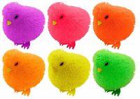 Light Up Flashing Squidgy Squashy Puffer CHICKEN Sensory Stress Fidget Party Toy
