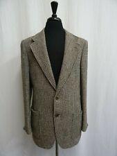 Men's Vtg Harris Tweed Jacket Blazer 40L Dry Cleaned