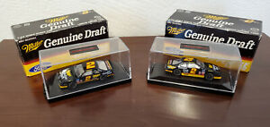 Rusty Wallace 1995 Miller Genuine Draft #2 Action 1/64 Diecast Set of 2 w/ Cases