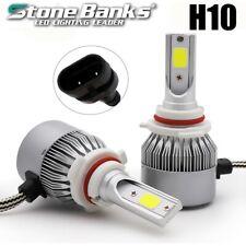 New listing 2X H10 100W 20000Lm Car Led Headlight Fog Bulbs 6000K Light High Beam Headlamp