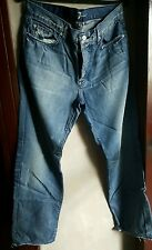 7 FOR ALL MANKIND MEN'S DISTRESSED RELAXED FIT JEANS, SIZE 34