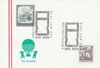A 1975/8 5 versch. SST MILCH/MILCHINDUSTRIE: 1150 WIEN + 3390 MELK + 4010 LINZ