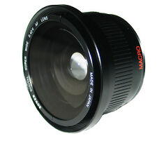 FishEye Fish eye Wide Angle Lens with Macro for Canon Rebel XSi XT XTi 18-55mm