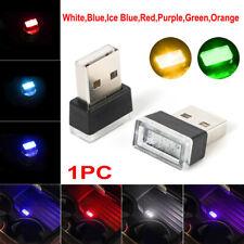 Flexible Mini USB LED Light Colorful Lamp For Car Atmosphere Lamp Accessories LP