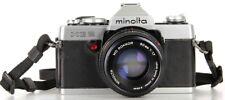 Minolta XG 2 Lens Minolta MD ROKKOR 50 mm 1.7  (Réf#T-026)
