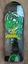 "Santa Cruz Roskopp Target 4 Reissue Deck Black 10.25"" - New"