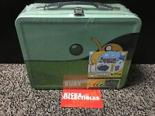 Adventure Time Traveling Jake Tin Tote Gift Sdcc Exclusive Lunch Box cartoon