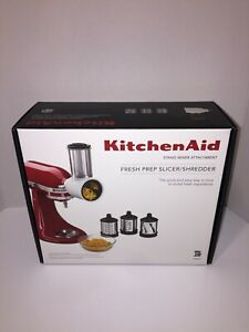 KitchenAid 5 Piece Fresh Prep Slicer Shredder Attachment for Mixer New in Box