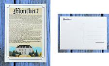 Carte postale Histoire de Montbert, Loire Atlantique