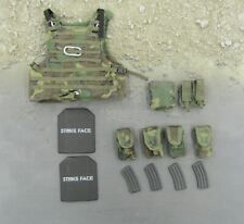 1/6 Scale Toy USMC - Woodland Camo Vest & Pouch Set